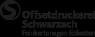 Offsetdruckerei Schwarzach GmbH logo image