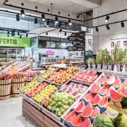 Obst & Gemüse Abteilung, Ländlemarkt Tosters